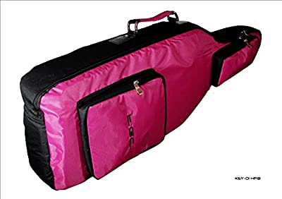 New Playstation 4 Console Guitar Hero 6 Hot Pink & Black Guitar Case Bag from TGC