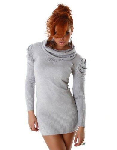 Graffith - Robe - Uni - Femme 32 gris clair (ral 7035)