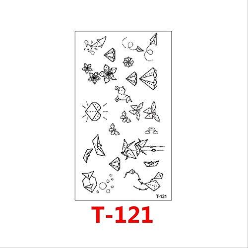 ZPF Tätowierung Eine Vielzahl von Cartoon-Mustern Diamant Kleine Trojaner Hochwertige Tätowierungsaufkleber Abnehmbar Wasserdicht01 (Trojaner Kostüm Männer)