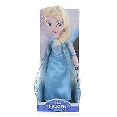 Disney Frozen Oficial 26cm (10 pulgadas) Elsa La Reina suave felpa muñeca de trapo en caja de regalo de Posh Paws