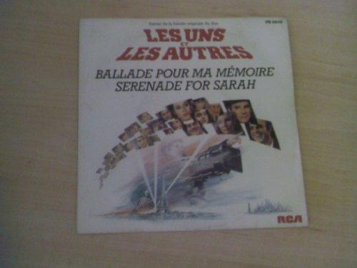 Memoiren Single (Les uns et les autres (Ballade pour ma mémoire) / Vinyl single [Vinyl-Single 7''])