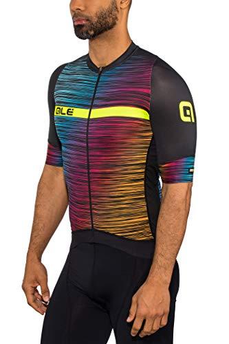 Alé Cycling Graphics PRR End SS Jersey Men Black-Multicolor Größe S 2019 Radtrikot kurzärmlig
