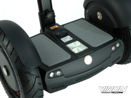 E-Balance Scooter Segwheel 1300W Elektroroller Smart Wheel Elektro E-Skateboard E-Board (schwarz) -
