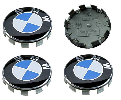 UG 4 Coprimozzo da 56mm con Logo Blu e Bianco per Cerchione Ruota Mozzo Ricambio Compatibile