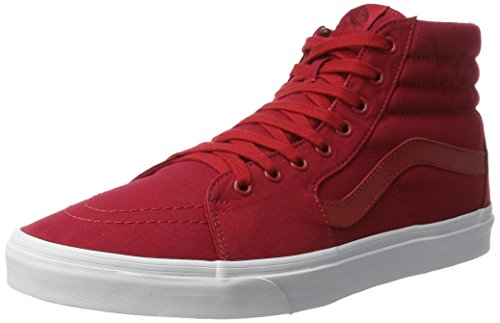 vans-ua-sk8-hi-zapatillas-altas-para-hombre-rojo-mono-canvas-chili-pepper-true-white-41-eu