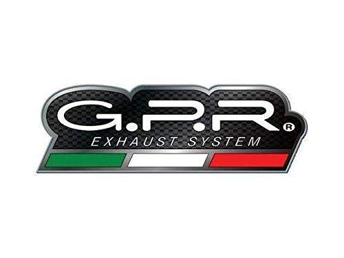 GPR Auspuff für Ducati Multistrada 12002010/14Terminal zugelassen mit Verbindungsstück Serie der EVO Titanium