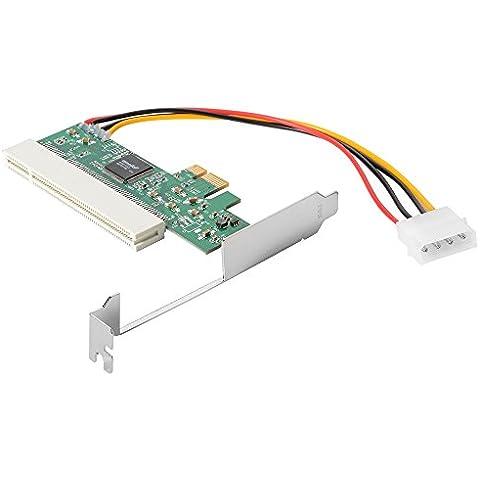 XCSOURCE® Tarjeta PCI Express a PCI Adaptador Asmedia 1083 Chipset AC385