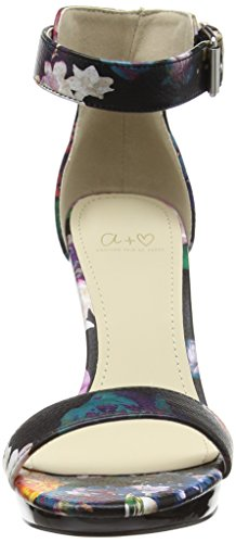 Another Pair of Shoes Perla K2 - Scarpe con Tacco Donna Multicolore (Multi Black 03)