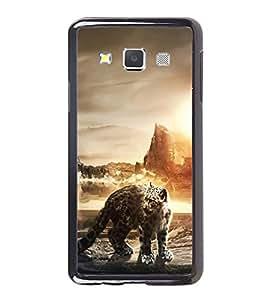Fuson Designer Back Case Cover for Samsung Galaxy A3 (2015) :: Samsung Galaxy A3 Duos (2015) :: Samsung Galaxy A3 A300F A300Fu A300F/Ds A300G/Ds A300H/Ds A300M/Ds (Tiger Ferocious Tiger HuntingTiger Angry Tiger hungry Tiger)