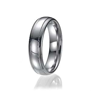 6mm Comfort Fit Unisex Tungsten Wedding Band Ring