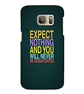Perfect print Back cover for Samsung Galaxy S7