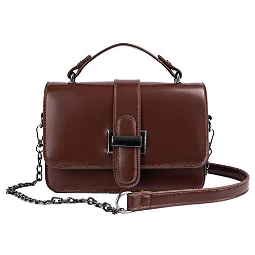 Mitlfuny handbemalte Ledertasche, Schultertasche, Geschenk, Handgefertigte Tasche,Damenmode Wild Slant Bag Einzelner Schulterbeutel Geldbeutel Kuriertasche (Hobo Handtaschen Tignanello)