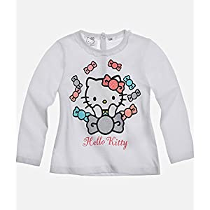 "HELLO KITTY (Mädchen) Babies Langarmshirt – Motiv ""Sweet Kitty"" – bis 24 Monate"