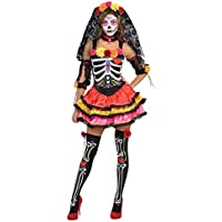 Costume 'Day of the Dead' femme - taille au choix