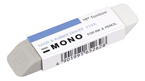 Tombow ES-510A Radierer MONO sand und rubber für das Radieren von Bleistift und Tinte, 13 g