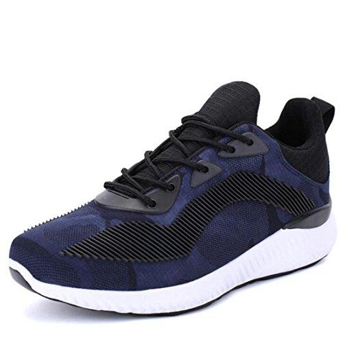 Scarpe da corsa primaverili scarpe casual da uomo scarpe da jogging selvagge deep blue
