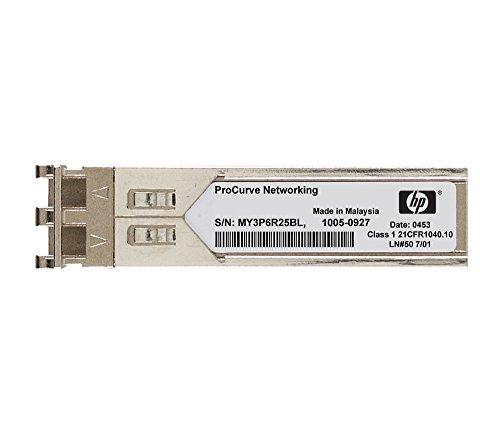 HP ProCurve gigabit-lx-lc Mini-GBIC Glasfaser 1310nm 1000Mbit/s SFP Modul Transceiver Netzwerk-–Module Netzwerk-Funkgeräte (1000Mbit/s, SFP, LC, IEEE 802.3z, LX, Glasfaser)