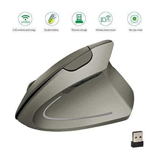 USB-Maus für die kabellose Spielekonsole Ergonomie-Port 3 Geschwindigkeitsstufen DPI für PC-Port