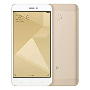 "Xiaomi Redmi 4X SIM doble 4G 32GB Oro - Smartphone (12,7 cm (5""), 32 GB, 13 MP, Android, 6.0.1, air) [Version Europea]"