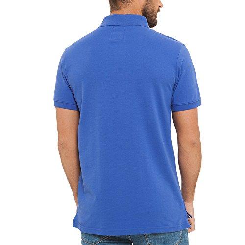 Lonsdale London Herren Poloshirt Königsblau
