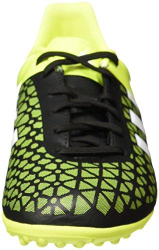 adidas Ace 15.3 Tf J, Scarpe da Calcio Bambino Multicolore (Black / White / Yellow)