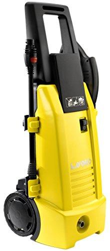 Lavorwash Ninja Plus 130 - Limpiador de alta presión (Vertical, Eléctrico, Negro, Amarillo, 420 l/h, 130 barra, 1800W)