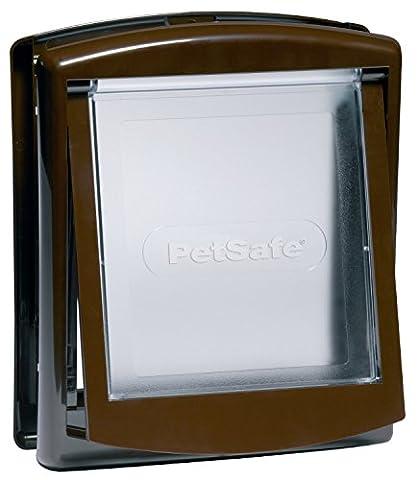 PetSafe Staywell Original 2-Way Pet Door - Small - Brown (730EFS)
