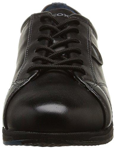 Geox D Avery B, Damen Sneakers Schwarz (Blackc9997)
