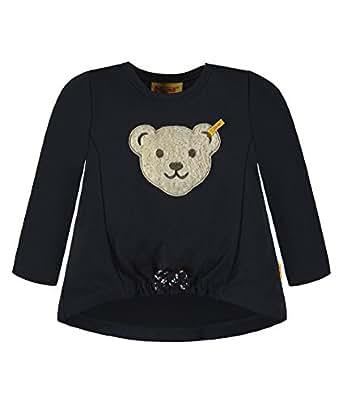 Steiff Collection Mädchen Sweatshirt 1/1 Arm 6833133, Blau (Marine 3032), 68