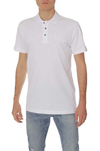 Emporio Armani Herren Poloshirt 1100 White