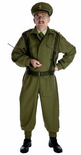 Britischer Hauptschutz-Offizier - erwachsenes Abendkleid-Kostüm - ()