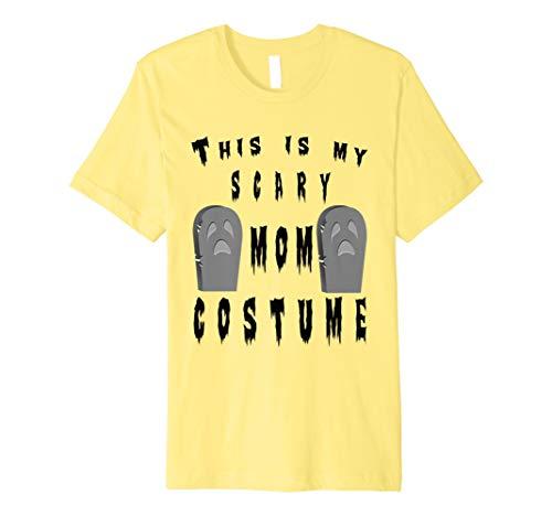 Dies ist mein Scary Mom Kostüm Halloween Tombstone T-Shirt
