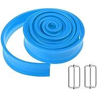 Homyl 1 Unidad de Banda de Fuerza de Hombres y Mujeres para Ejercicios de Fitness Musculación Fácil de Transportar - Azul