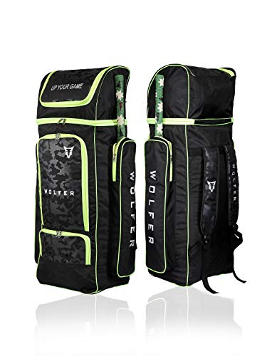 Wolfer T20 Large Cricket Duffle Bag (Extra Space for Helmet...
