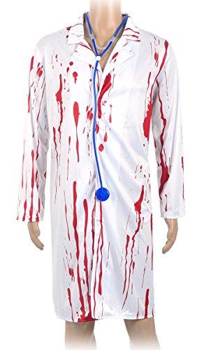 CoolChange Halloween Kostüm blutiger Arztkittel (Weibliche Kostüme Halloween)
