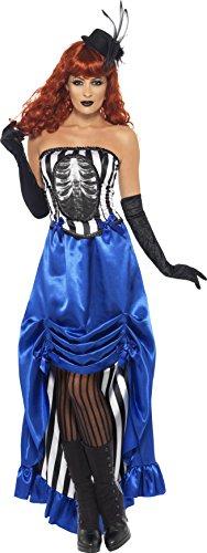 Smiffys, Damen Grotesk Burlesque Pin-Up Kostüm, Korsett und -