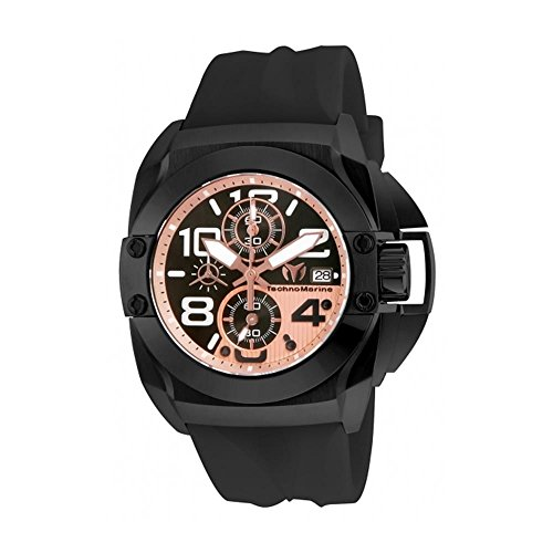 technomarine-mens-reef-45mm-black-silicone-band-steel-case-quartz-copper-dial-analog-watch-515014