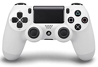 PS4 Playstation 4 Standard White Rapid Fire Modded Controller for COD Black Ops3, Infinity Warfare, AW, Destiny, Battlefield: Quick Scope, Drop Shot, Auto Run, Sniped Breath, Mimic, More