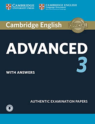 Cambridge English Advanced 3. Student's Book with answers and downloadable audio