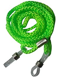Fluorescent Neon Green Glasses / Sunglasses Spectacle Retaining Neck Cord Strap Holder