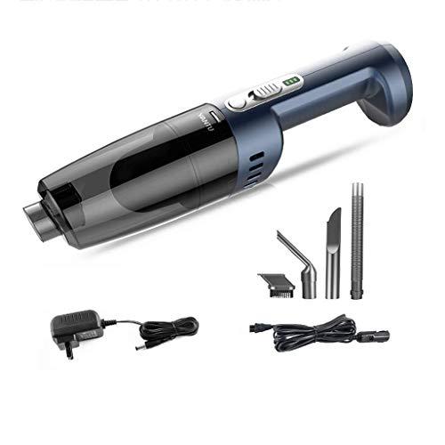 Licy Aspirapolvere Ricarica Wireless Famiglia ad Alta Potenza Piccola Mini Multifunzione Tempo Disponibile 30 Minuti di ugello di aspirazione Set di 3 Pezzi