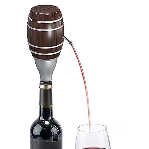 Elektrische Dekanter Einstellbare Wein Pumps Fast Wine Dispenser Pumpe Batterie