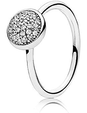 Pandora Damen-Ring 925 Silber Zirkonia weiß - 191009CZ