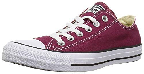 Converse Chuck Taylor All Star, Sneakers Unisex - Adulto, Rosso (Bordeaux), 35 EU