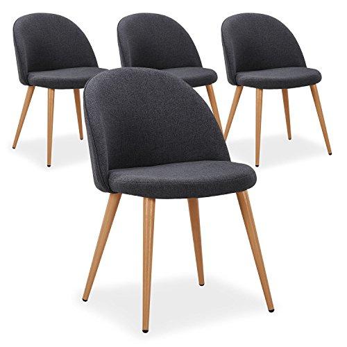 chaise scandinave tissu le classement des meilleurs d 39 octobre 2018 zabeo. Black Bedroom Furniture Sets. Home Design Ideas
