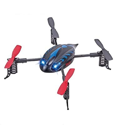 s Idea® 01114 Quadcopter Quadcopter RC 4.5 Channel 2.4 GHz RC Helicopter RC Helicopter Helicopter with Gyroscope and 2.4 GHz Technology Brand New, for Indoors and Outdoors with Built-in Gyro 2.4 Ghz Controller Ready to Fly.