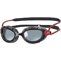 Zoggs Predator Polarized Gafas, Unisex, Negro/Rojo, Talla única