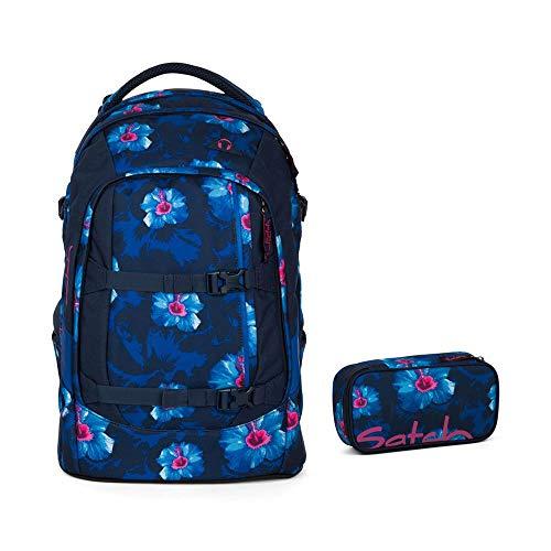 Satch 9L2 Set Zaino per la scuola da 2pezzi, blu (Waikiki Blue)