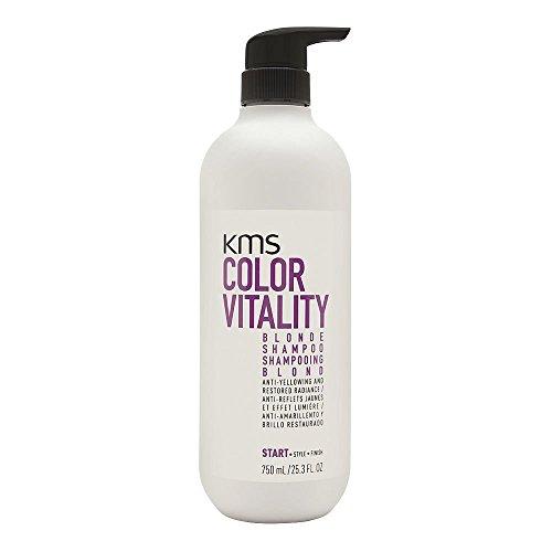 Color Vitality Shampooing pour cheveux blonds Color Vitality Blonde Shampoo - Rehausse les reflets blonds et combat les reflets jaunâtres - 750 ml (25.3 oz)