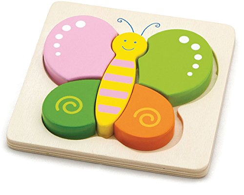 Viga Toys - Holzpuzzle - Schmetterling
